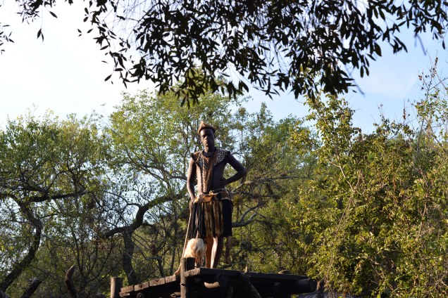 "A Zulu ""look out"" keeping track of the coming and goings of visitors."