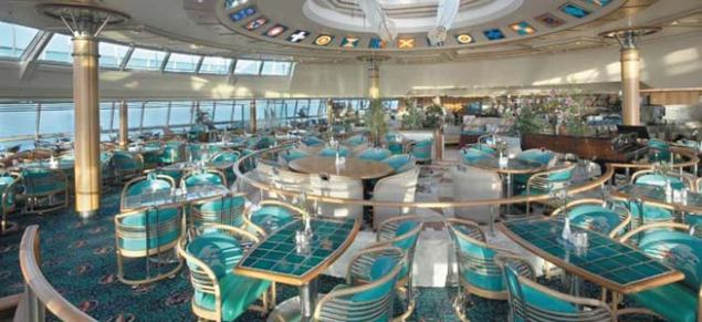 Windjammer Cafe with 360 degree ocean view!